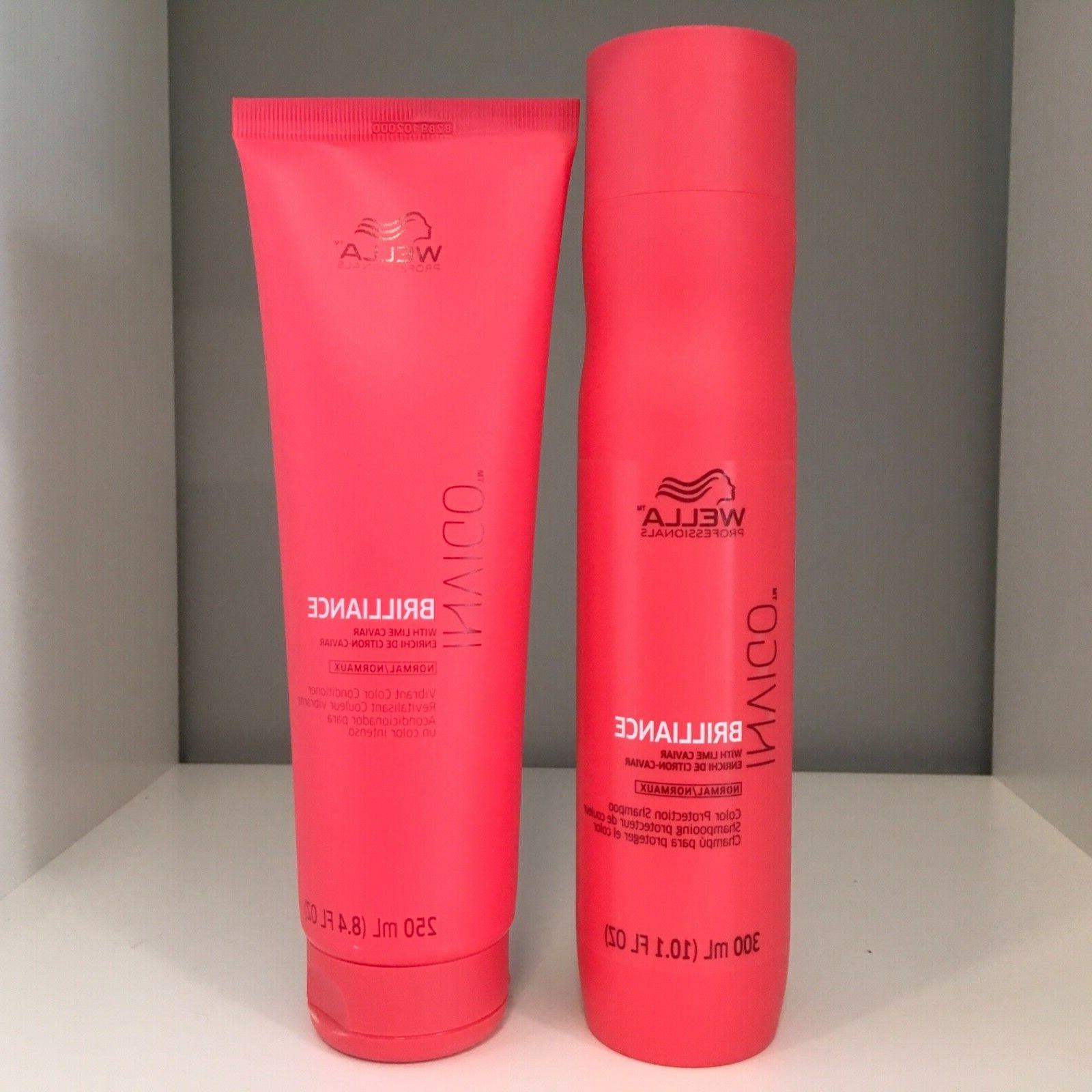 Wella Lime Normal Care Products