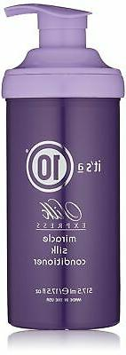 It's a 10 Haircare Silk Express Miracle Silk Conditioner, 17