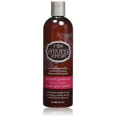 Hask Shampoo Keratin Protein Smoothing 12 Ounce