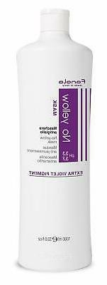 mask 1000ml Fanola No Yellow Ideal For Grey Silver Lightened