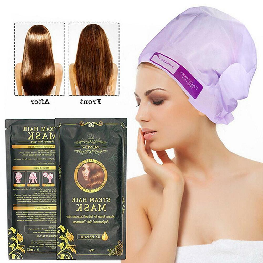 moisturizing heating steam hair mask keratin repair