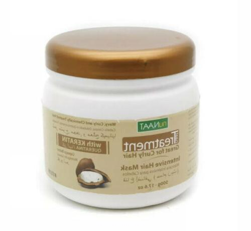 nuNAAT naat Treatment Curly Hair Intensive Hair Mask, 17.6 o