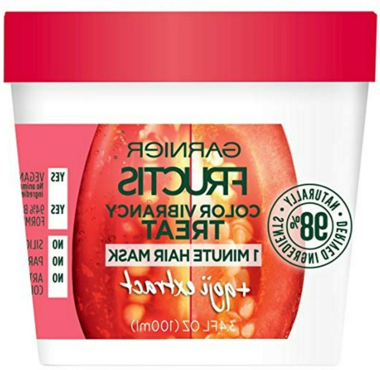 new fructis color vibrancy treatment 1 minute