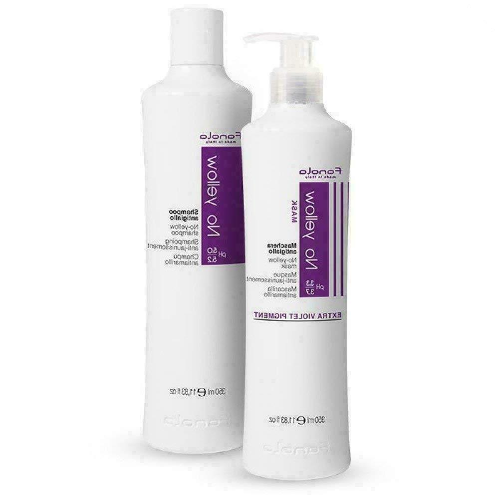 no yellow shampoo and conditioner mask 350
