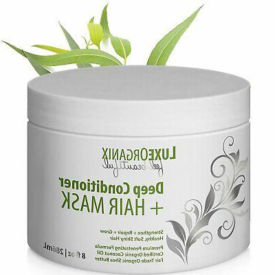 organic deep conditioner hair mask moisturizing