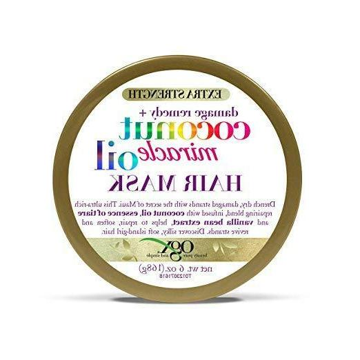 damage remedy coconut miracle oil hair mask