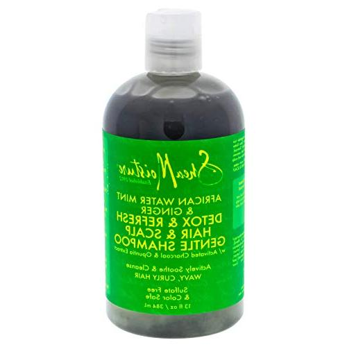 sheamoisture african water mint ginger