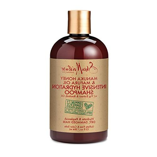SheaMoisture Manuka Mafura Oil Intensive Hydration Combination – Includes 13 oz. 13 oz. Conditioner oz.