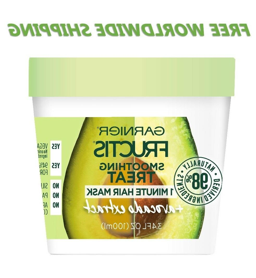 smoothing treat 1 minute hair mask avocado