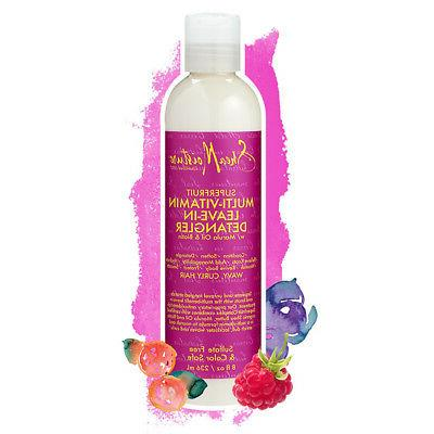 SHEA MOISTURE SUPERFRUIT MULTI-VITAMIN LEAVE-IN DETANGLER MA