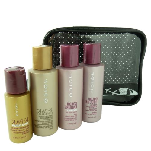travel care set colored hair shampoo conditioner