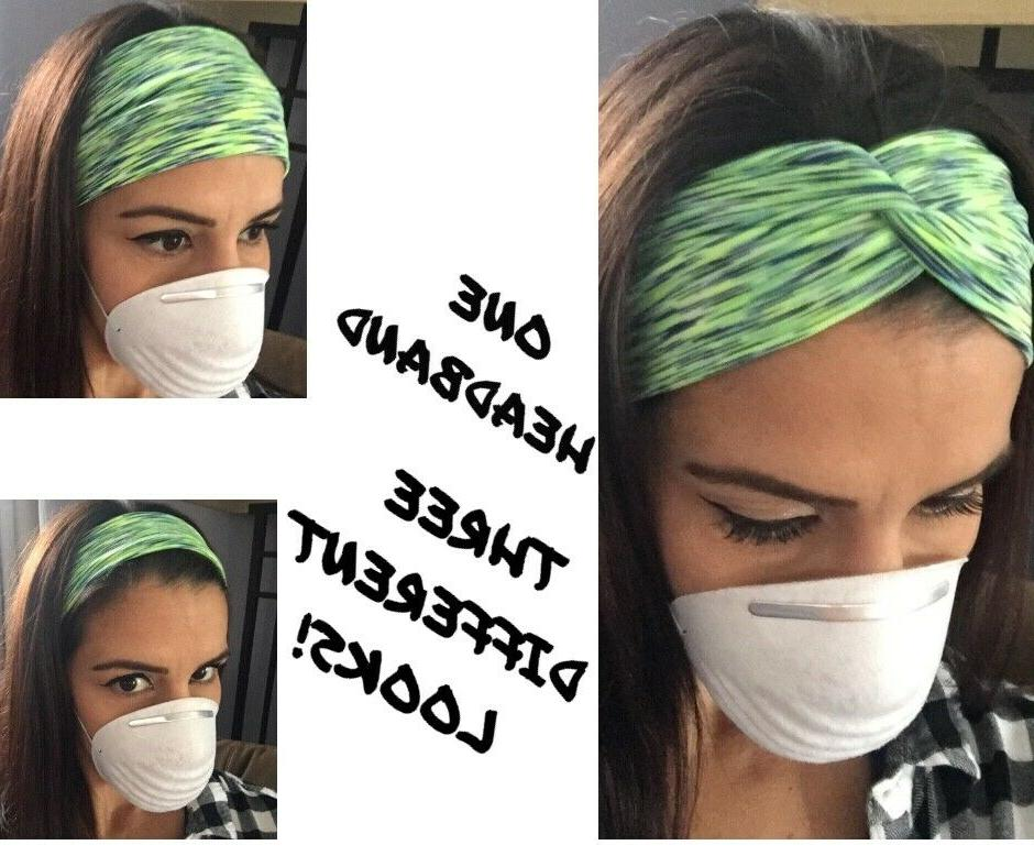 us headband with buttons for face mask