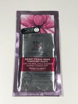 L'Oreal Ever Pure Intense Repair Hair Sheet Mask Steam Treat