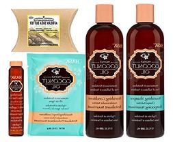 Hask Hask Monoi Coconut Oil Haircare 4set with Superior Shea