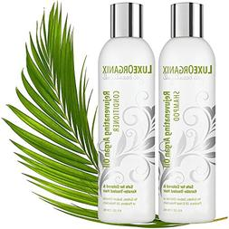 Moroccan Argan Oil Shampoo and Conditioner: SLS Sulfate and