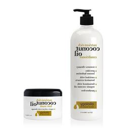 Oliology Nutrient Rich Coconut Oil Conditioner Jumbo 32 oz +