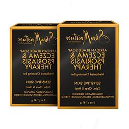 SheaMoisture Eczema & Psoriasis Therapy African Black Soap,
