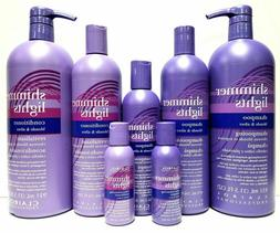 Shimmer Lights Hair Shampoo & Conditioner Blonde & Silver ha