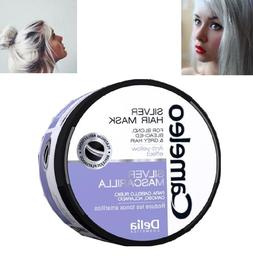 Delia Silver Hair Mask for Blond Bleached Grey Hair  Effect