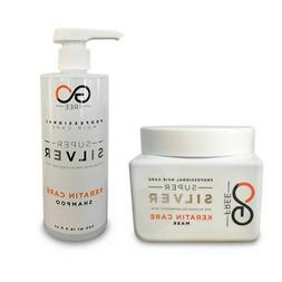 Go Free Silver Shampoo & Mask for gray Bleached & Blond Hair