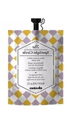The Spotlight Circle Davines Hair Mask 1.69 Oz 50mL Moringa