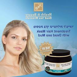 Treatment Hair And Scalp Mask With Natural Dead Sea Mud H&B