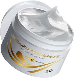 Vitamins Keratin Hair Mask Deep Conditioner for Dry Damaged