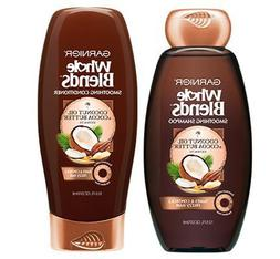 Garnier Whole Blends Coconut Oil & Cocoa Butter Smoothing Sh