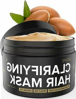 Xtava Clarifying Clay Hair Mask with Argan Oil - 8 Fl.Oz Hai